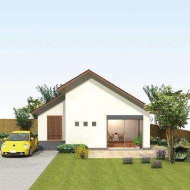 住宅設計のバリエーション HIRAYA